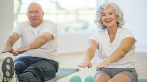 Abdominal exercises for retirees